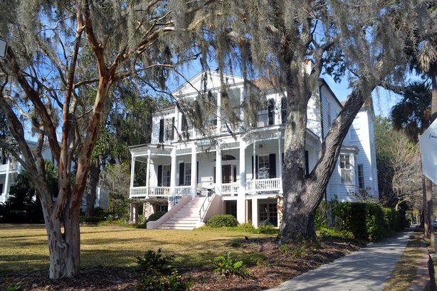 Historic house in Beaufort, South Carolina