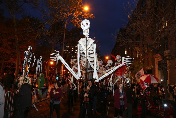 Village Halloween Parade in New York, NY
