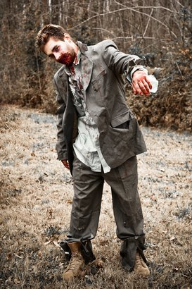 zombie in a suit