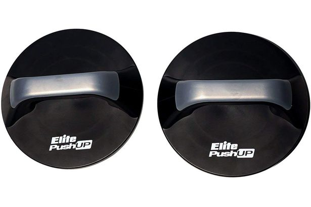 Elite Push-Up Bar Professional Quality Rotating Push up Bars Reduce Wrist Strain Free Skipping Jump Rope Included