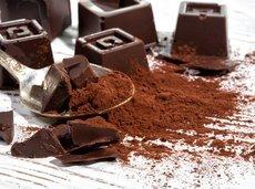 homemade dark chocolate
