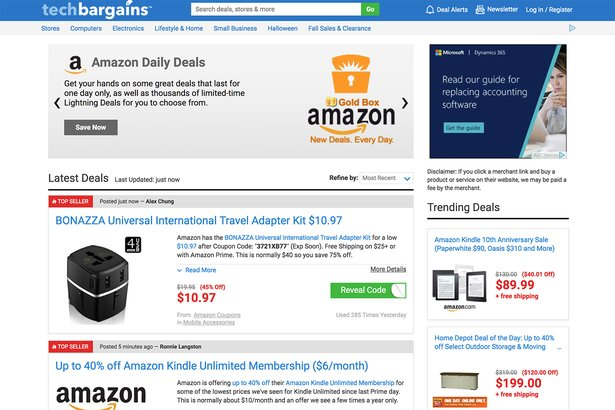 145d176ab 101 Best Websites to Save Money on Electronics