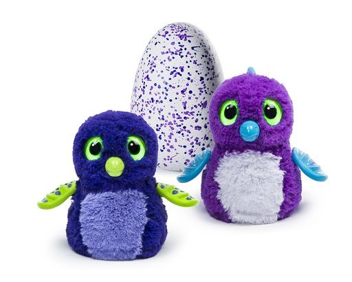 Hatchimals Draggles Blue/Purple Egg