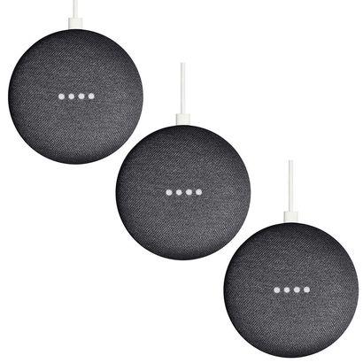 Google Home Mini, 3 Pack