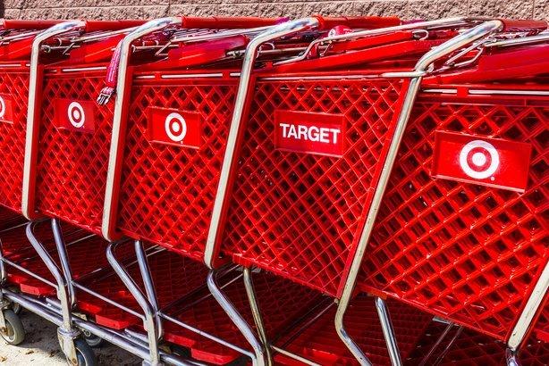 Target retail store carts