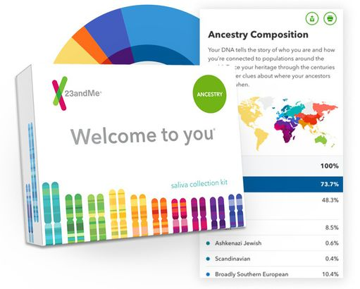 23andMe Personal Ancestry Kit