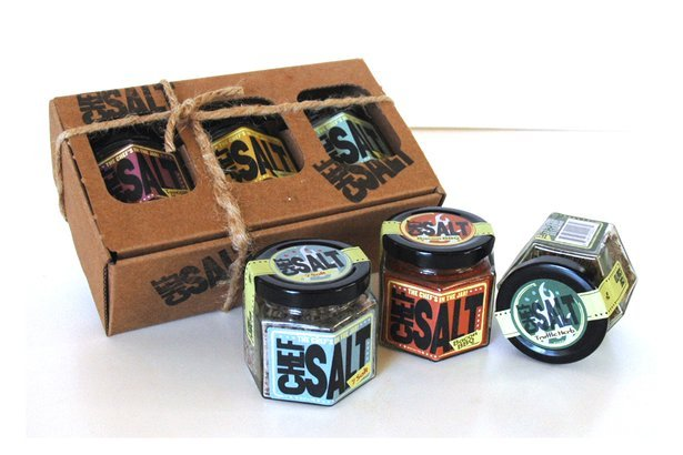 Chef Salt 3-Jar Gift Set
