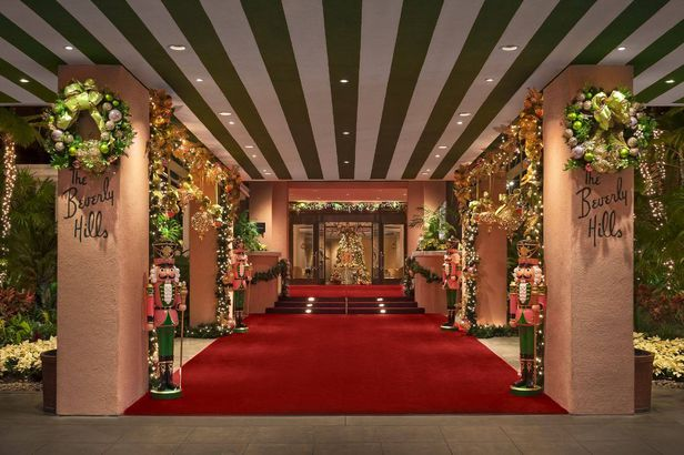 Christmas at the Beverly Hills Hotel, Beverly Hills, California