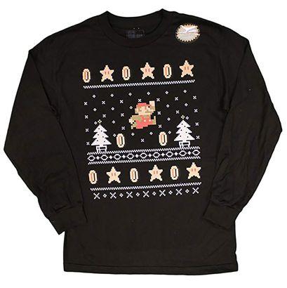 3e001914edf31 Men s Nintendo Super Mario Bros Holiday Sweater