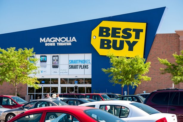 Best Buy retail store in St. Paul, Minnesota