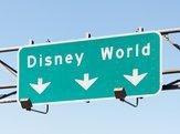 road sign in Orlando, Florida pointing to the Walt Disney World Resort