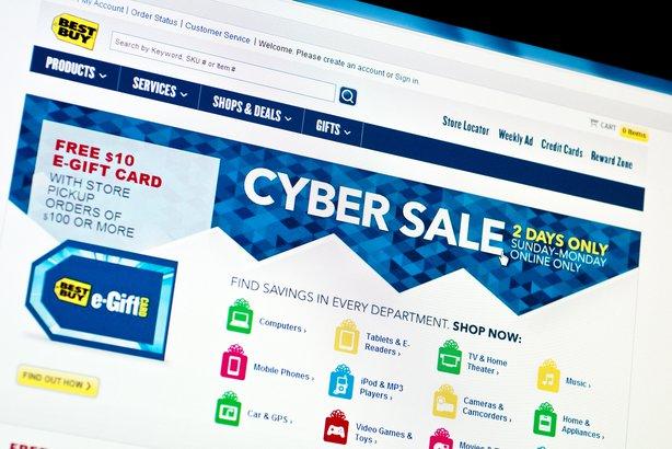 Cyber Sale on Best Buy