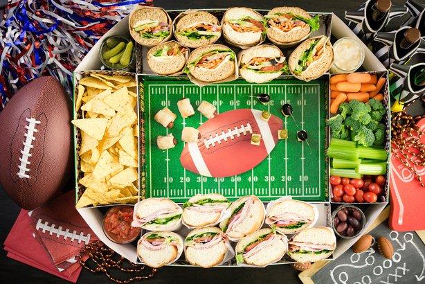 Superbowl snack stadium