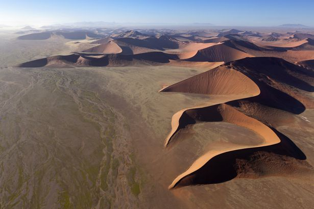 Namibia sands, drone