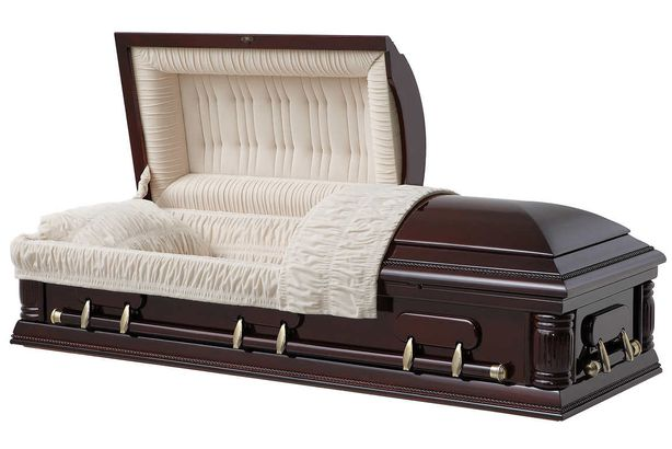The Richmond Solid Wood Casket by Universal