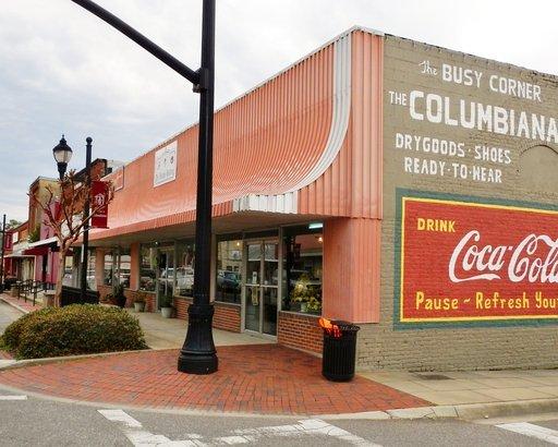 downtown Columbiana, Alabama