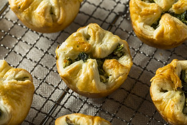 Mini Spinach Pies