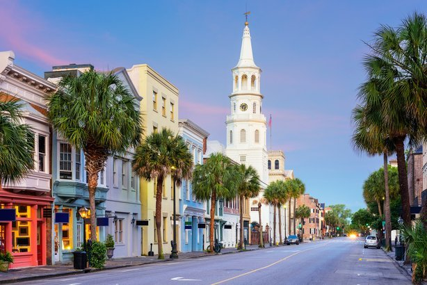 French Quarter in Charleston, South Carolina