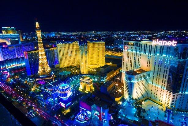 Vegas Strip in Las Vegas