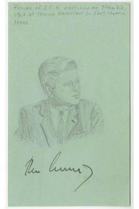 JFK's 'Last' Autograph