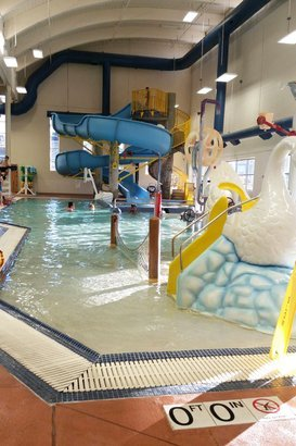 Indoor Swimming Pool With Slides 50 indoor pools across america | cheapism