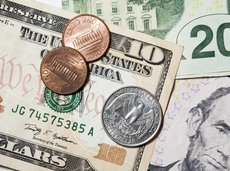 Stack of U.S. money