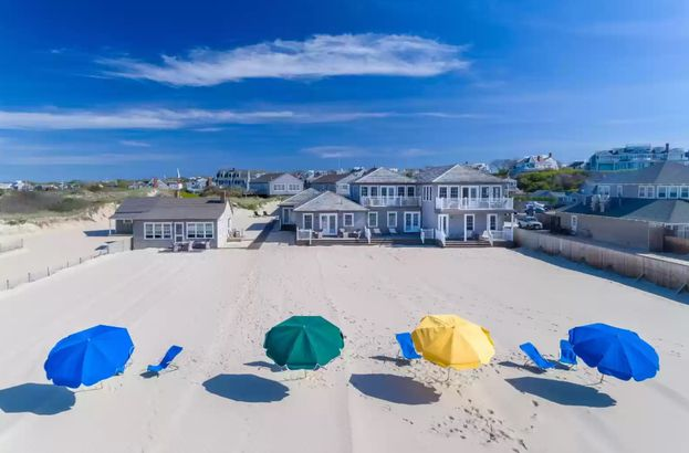 Massachusetts waterfront home