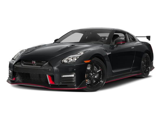 front-angle view of 2018 Nissan GT-R Nismo AWD