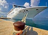 cruise boat docked