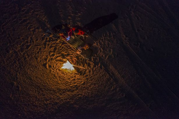 Atacama Desert, Chile by drone
