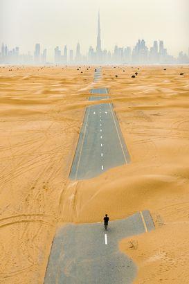 Dubai, United Arab Emirates by drone