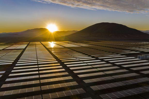 Atacama Desert solar panels
