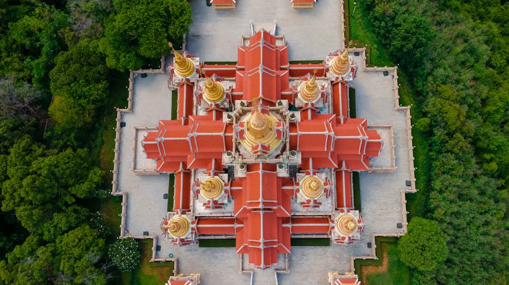 Wat Tang Sai Temple, Thailand