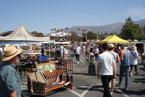 Rose Bowl Flea Market Pasadena