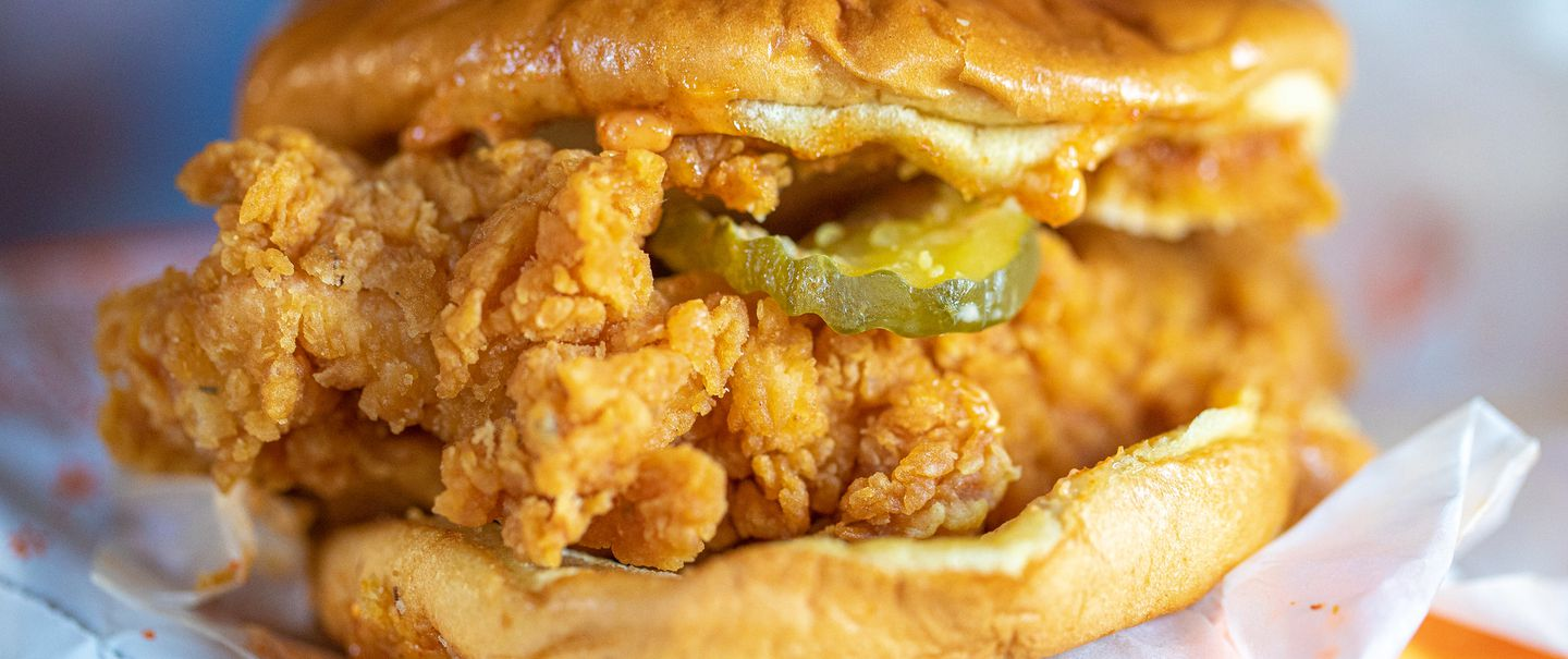 Popeye's Classic Fried Chicken Sandwich