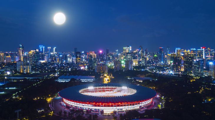 Senayan Stadium, Indonesia