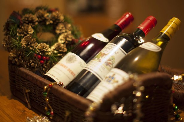 bundle of wines