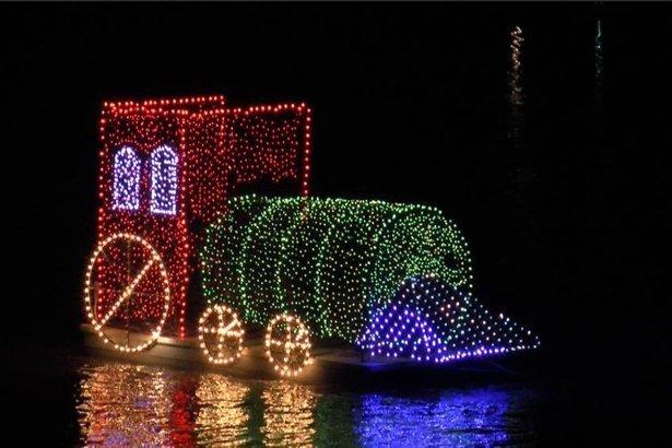 Christmas on the River in Demopolis, Alabama