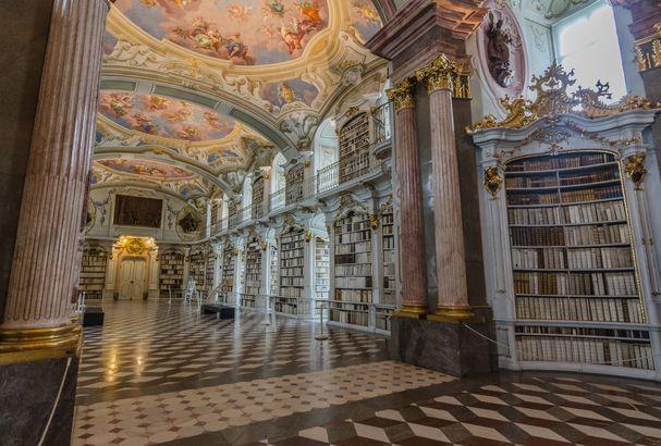 Stiftsbibliothek Admont (Admont Abbey)
