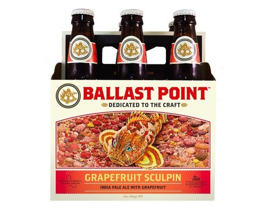 Ballast Point Grapefruit Sculpin India Pale Ale