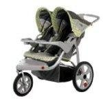 instep safari swivel double jogging stroller sm