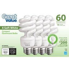 lg 030614 great value 14 watt soft white cfl 250