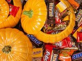 selection of Halloween candies