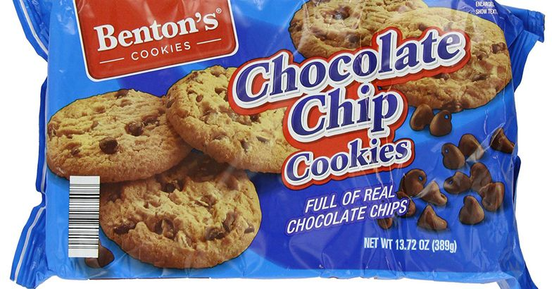 Aldi Benton's Chocolate Chip Cookies