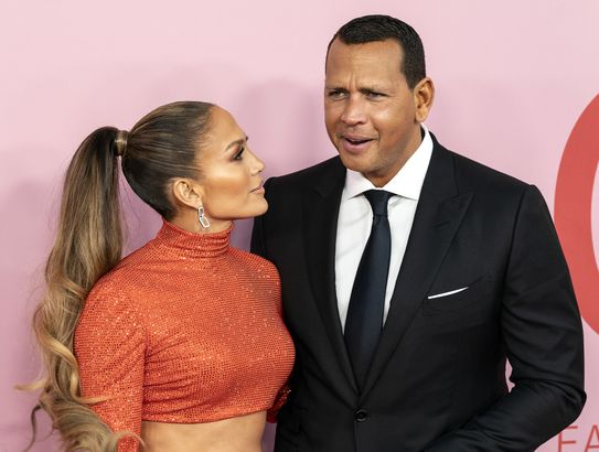 Alex Rodrigez and Jennifer Lopez