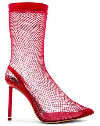 fb6056ff970 Alexander Wang Stretch Mesh Caden Heels