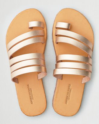 aee6b7f25e7f American Eagle Outfitters Toe Ring Wrapped Slide Sandal