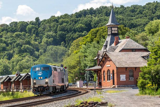 Amtrak Adirondack Route