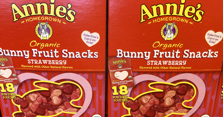 Annie's Organic Valentine's Berry Patch Bunny Fruit Snacks
