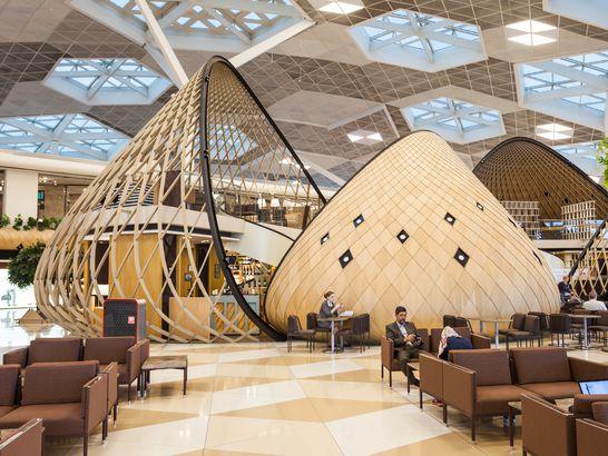Baku Airport interior